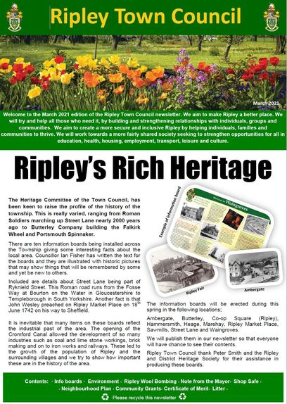 Ripley Town Council Newsletter